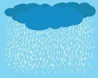 Vector de la lluvia Imagen de archivo