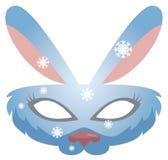 Vector de la máscara del conejito Foto de archivo libre de regalías