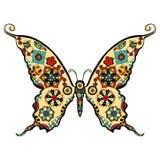 Vector de la mariposa Fotos de archivo