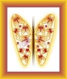 Vector de la mariposa Fotografía de archivo