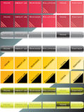 Vector de la navegación del Web Fotografía de archivo libre de regalías