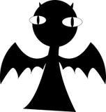 Vector de la oscuridad del diablo Foto de archivo