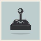 Vector de la palanca de mando del videojuego del ordenador Fotografía de archivo libre de regalías