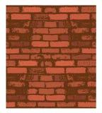 Vector de la pared de ladrillo Imagenes de archivo