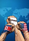 Vector de la paz ilustración del vector