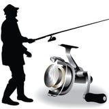 Vector de la pesca stock de ilustración