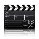 Vector de la pizarra de la película Fotos de archivo
