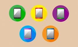 vector de la tableta Imagen de archivo libre de regalías