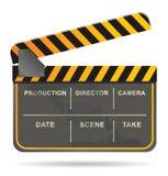 Vector de la tablilla de la película Fotografía de archivo libre de regalías