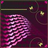 Vector de la tarjeta del día de San Valentín ilustración del vector