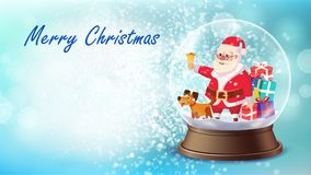 Vector de la tarjeta de Navidad stock de ilustración