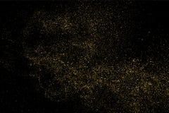 Vector de la textura del brillo del oro Imágenes de archivo libres de regalías