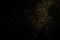 Vector de la textura del brillo del oro Fotografía de archivo