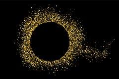 Vector de la textura del brillo del oro Imagenes de archivo