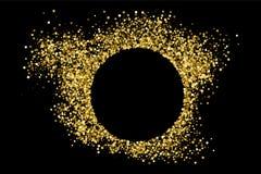 Vector de la textura del brillo del oro Fotografía de archivo libre de regalías