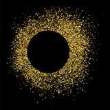 Vector de la textura del brillo del oro Imagen de archivo libre de regalías