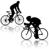 Vector de las bicicletas Fotos de archivo