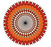 Vector de las flores Imagenes de archivo