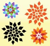 Vector de las flores Foto de archivo libre de regalías