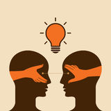 Vector de las ideas del intercambio Foto de archivo