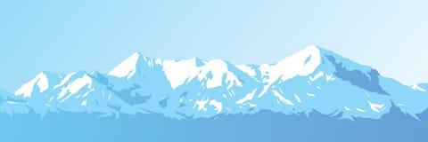Vector de las montañas Imagen de archivo libre de regalías