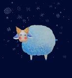 Vector de las ovejas Imagen de archivo