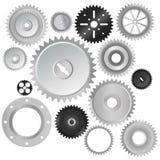 Vector de las ruedas de engranaje Fotografía de archivo