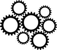 Vector de las ruedas de engranaje ilustración del vector