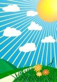 Vector de lenteachtergrond Stock Afbeeldingen