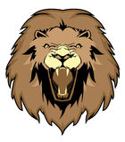 Vector de Lion Face Fotografía de archivo