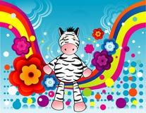 Vector de los animales de la historieta Imagenes de archivo