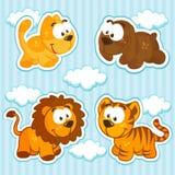 Vector de los animales del icono Imagen de archivo libre de regalías