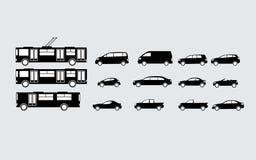Vector de los coches Fotografía de archivo