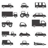 Vector de los coches Foto de archivo libre de regalías