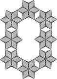 Vector de los diamantes Imágenes de archivo libres de regalías