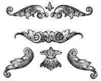 Vector de los elementos del diseño libre illustration