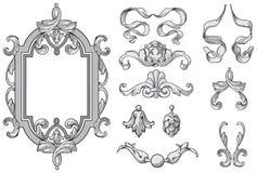 Vector de los elementos del diseño Imagen de archivo libre de regalías