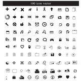 Vector de los iconos Fotografía de archivo libre de regalías