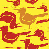 Vector de los pájaros Fotos de archivo libres de regalías