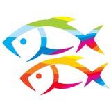 Vector de los pescados Fotografía de archivo libre de regalías