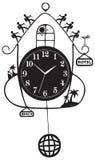 Vector de los símbolos del viaje libre illustration