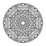 Vector de Mandala Round Zentangle Ornament Pattern Fotografía de archivo