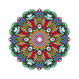 Vector de Mandala Round Zentangle Ornament Pattern Fotografía de archivo libre de regalías