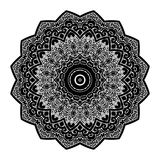 Vector de Mandala Round Zentangle Ornament Pattern Fotografía de archivo libre de regalías