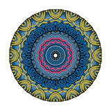 Vector de Mandala Round Zentangle Ornament Pattern Foto de archivo