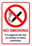 Vector de no fumadores Foto de archivo