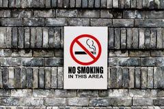 Vector de no fumadores Imagenes de archivo