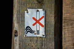 Vector de no fumadores Imagen de archivo