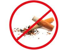Vector de no fumadores Fotos de archivo