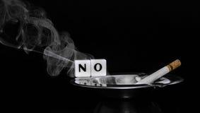 Vector de no fumadores Imagen de archivo libre de regalías